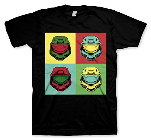 Halo T-Shirt Chief Pop Art, XL