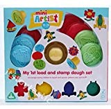 Mini Artist My First Load And Stamp Dough Set
