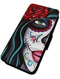 Pretty gótico, diseño de chica–funda con tapa tipo cartera funda LG G3