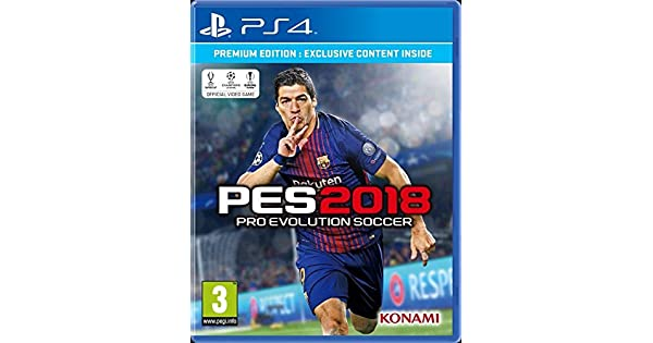 Buy PES 2018 (PS4) Online at Low Prices in India   Konami Video