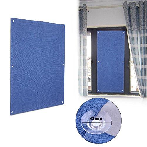 Wohl h 60* 93cm tetto finestra tenda a rullo termica protezione solare in beige per velux finestre da tetto ggl c04ecc, blu scuro, 96 * 120 cm