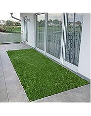 SRHandloom High Density Artificial Grass Carpet Mat for Lawn, Balcony, Door