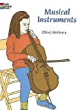 Musical Instruments Best Deals - Musical Instruments Coloring Book
