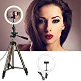 Mycart 18 Inches Big LED Ring Light for Camera Smartphone to Capture Your Photo and Video at Tiktok, Musically and Other Phone's App with Tripod