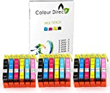 18 XL High Capacity Colour Direct Compatible Ink Cartridges Replacement For Epson Expression Photo XP-55 XP-750 XP-760 XP-850 XP-860 XP-950 XP-960 Printers. 3 Sets 24XL