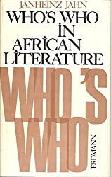 Who's who in African literature: biographies, works, commentaries