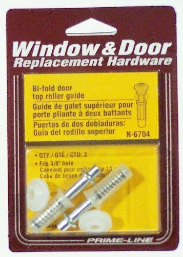 prime-line Produkte N 6704Doppelfalttür Top Guide Rad, Nylon, (2Stück) -