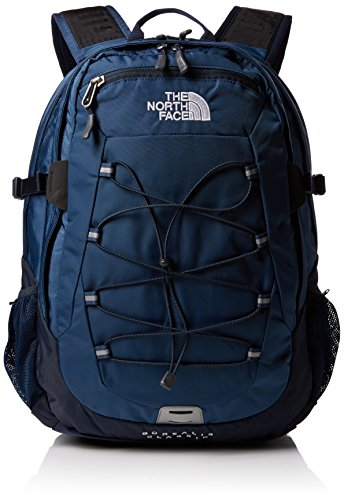The North Face Borealis - Mochila, color azul oscuro / negro, talla única