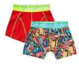 Vingino Yess 2-Pack Boxershorts Jungen Doppelpack (XS - 110/116, Multicolor Red)