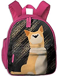 Funny Schoolbag Backpack Shiba Inu Kid and Toddler Casual Backpack College School Bag Travel Daypack