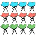 4 X 4 Legs Strong Portable Folding Stool Chair Seat for Garden, Camping, Hiking, Fishing & BBQ by Crystals® - inexpensive UK light store.