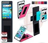 reboon Hülle für JiaYu G4 Advanced Tasche Cover Case Bumper | Pink | Testsieger