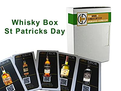 "Tasting Samples Irish Whiskey Tasting Box ""Cheers"""