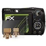 Canon Digital IXUS 980 IS Miroir Film Protecteur - atFoliX FX-Mirror Protection d'écran avec effet miroir