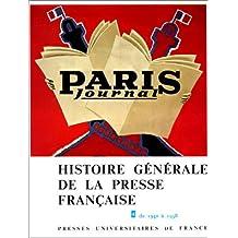 Histoire générale de la presse française, tome 4 : De 1940 à 1958