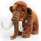 Mammut MANNI Urzeitelefant stehend 44 cm Dinosaurier Plüschtier von Kuscheltiere.biz