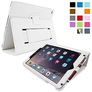 Étui iPad Air, Snugg™ - Coque de Protection Blanche, Style Smart Case Avec Garantie à Vie Pour Apple iPad Air (iPad 5)