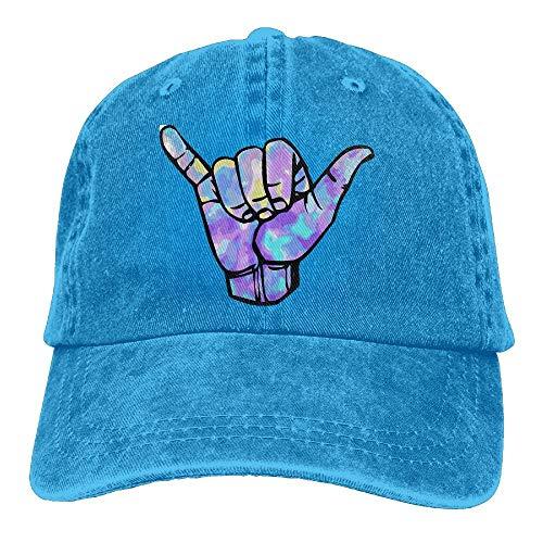 Baseball Jeans Cap Shaka Sign Women Snapback Caps Polo Style Low Profile -
