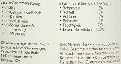 Biopur Bio Diätfutter Haut- und Fellerkrankungen 400g, 6er Pack (6 x 400 g) - 2
