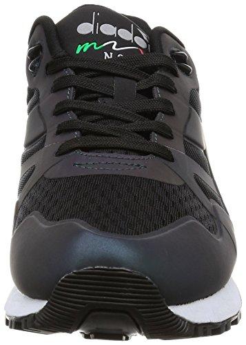 Diadora, Uomo, N9000 MM Hologram, Tessuto tecnico, Sneakers, Nero negro
