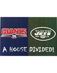 NFL - NY Giants - NY Jets All-Star House Divided Rug by FANMATS