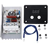 Ac Termostato 220v 10000W Scr Control de Velocidad Regulador De Voltaje Digital De Dimmer