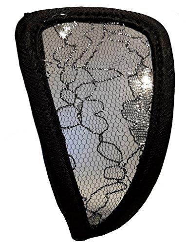 3-W-Hohenlimburg, 6552, Sexy Damen C String schwarz-transparent, Größe S-L, C-String, Perfektes Bräunen ohne Bräunungslinien, Erotikdessous