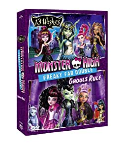 Monster High - Freaky Fab Double: 13 Wishes & Ghouls Rule [DVD]
