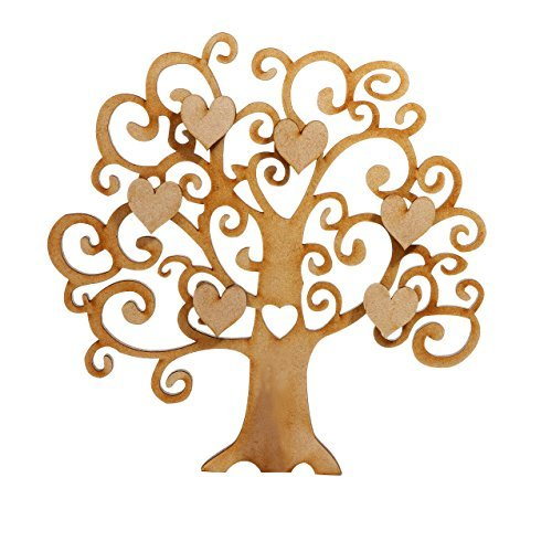 wooden family tree amazoncouk