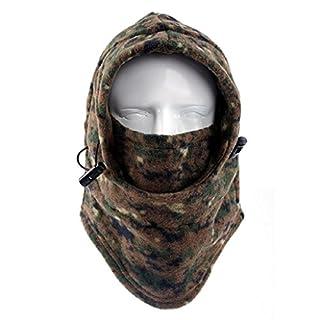Auxma Warme Winter im Freien schützende Hut im Freiensport Ansatzschablone volle Gesichtsmaske (B)