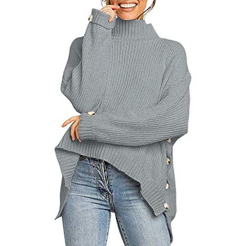 Orchgas Damen Herbst Einfarbig Dünne Jacke Strickjacke Mode Elegant Winter Lange Mäntel Elegante Dicke Warme Cardigan Langarm Lose Frauen Männer Oberteile Unregelmäßige Stilvolle -