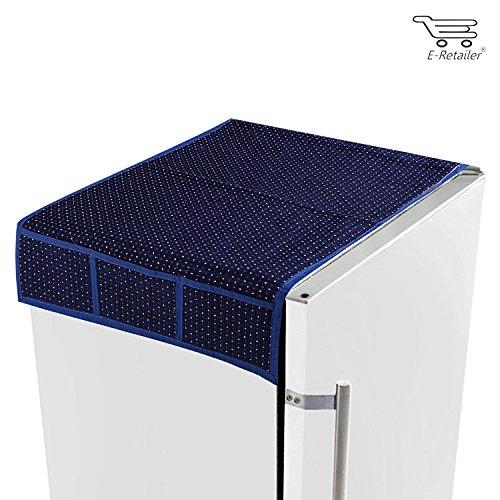 hstshilpp traditional purple dotted fridge