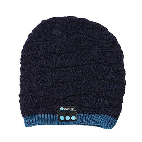 Kobay Cuffie Bluetooth Smart cap Senza Fili per Cuffie Invernali 203ffedb7268