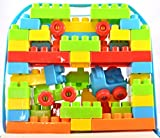 #7: Breno Blocks Game set, Play Learn Set for kids 53 pieces ( Train Building Blocks)