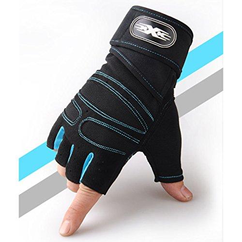 LnLyin Training Taktische Handschuhe Halb Knie Handschuh Herren Sport Fitness Handschuhe Halb Bezieht Outdoor Anti Rutsch Reithandschuhe