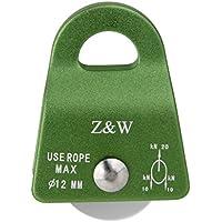 Aluminium 20kN Usage Général Petite Poulie Pour Corde Escalade12mm Vert