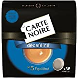 Carte noire décaféiné n°5 x36 - ( Prix Unitaire ) - Envoi Rapide Et Soignée