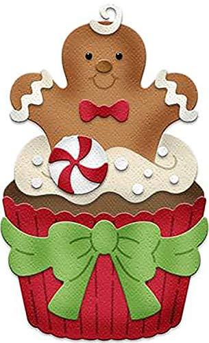 Cottage Cutz Dies-Gingerbread Man Cupcake - Cottage Cutz