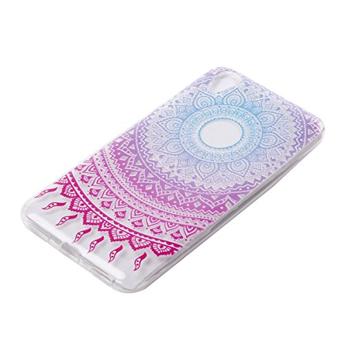 BONROY® Huawei Y5 II Coque Housse Etui,Fashion Belle Ultra-Mince Thin Soft Silicone Etui de Protection pour Souple Gel TPU Bumper Poussiere Resistance Anti-Scratch Case Cover Couverture Pour Huawei Y5 totem