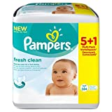 Pampers Feuchte Tücher fresh clean 384 Tücher