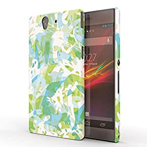 Koveru Designer Printed Protective Snap-On Durable Plastic Back Shell Case Cover for SONY XPERIA Z - Wall Art Pattern