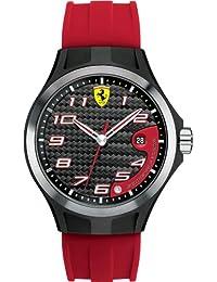 Ferrari Herren-Armbanduhr XL Analog Quarz Silikon 830014