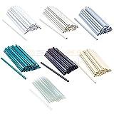 30 Stück Befestigungsclips für PVC Sichtschutzstreifen Clip Sichtschutz 7 Farben (Anthrazit)
