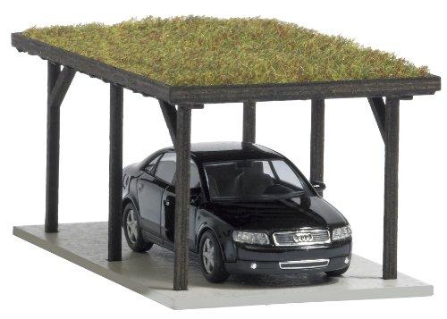 Busch 1482 - Carport mit Grasdach