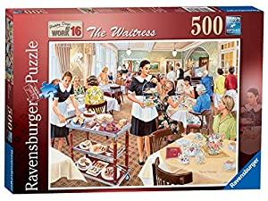 "Puzle de 500 Piezas de Ravensburger. Modelo Happy Days at Work, Número 16""."