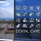 Dental Clinic Quote Wandaufkleber Dental Wandaufkleber Dental Clinic Window Art Wandbild Abnehmbare...