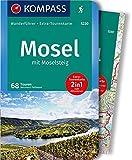 KOMPASS Wanderführer Mosel mit Moselsteig: Wanderführer mit Extra-Tourenkarte 1:75.000, 68 Touren, GPX-Daten zum Download