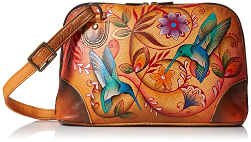 anuschka-dipinto-a-mano-lusso-531-in-pelle-multi-scomparto-organizer-zip-around-flying-jewels-tan-mu