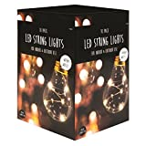 10 Micro Retro String Lights LED Home Garden Patio Balcony Lamp Decoration.