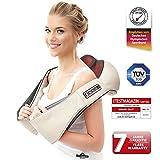 Nackenmassagegerät Das Original Donnerberg® | Massagegerät mit Infrarotwärme für Nacken, Rücken, Schultern | TÜV | 7 Jahre Garantie | für Zuhause, Büro und Auto